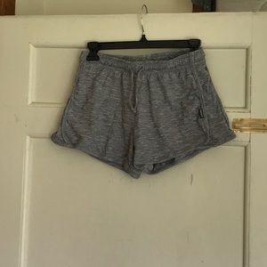 Gray jockey sweat shorts